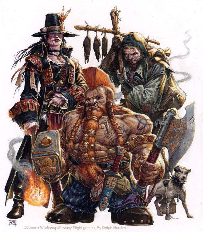 WFRP Career Compendium by Ralph Horsley